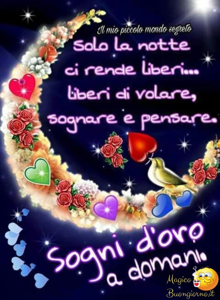 Buonanotte foto belle whatsapp for Immagini buongiorno il mio piccolo mondo segreto