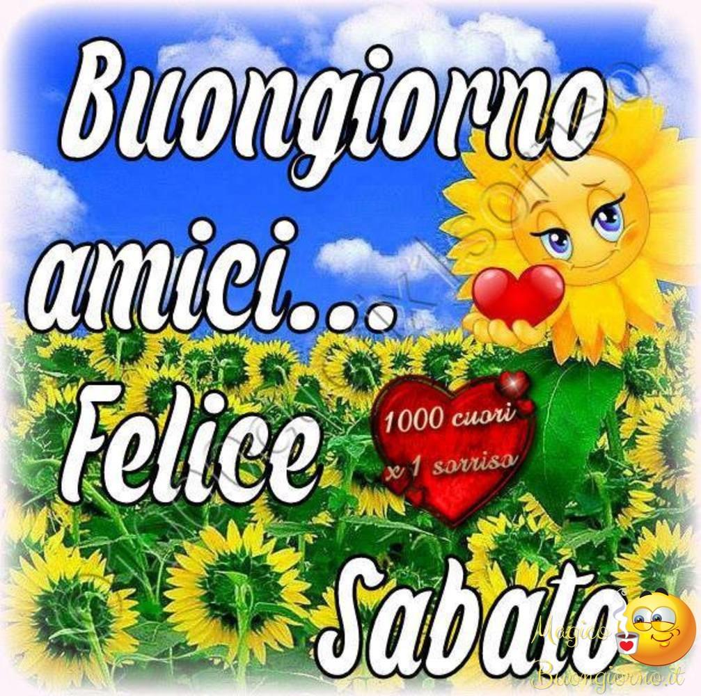 Buongiorno Sabato per Facebook e Whatsapp 29