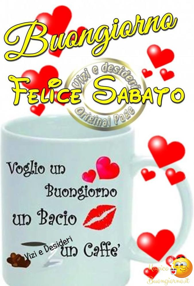 Buongiorno Sabato per Facebook e Whatsapp 33