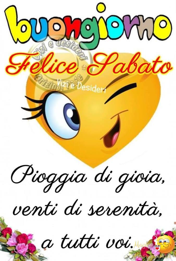 Buongiorno Sabato per Facebook e Whatsapp 36