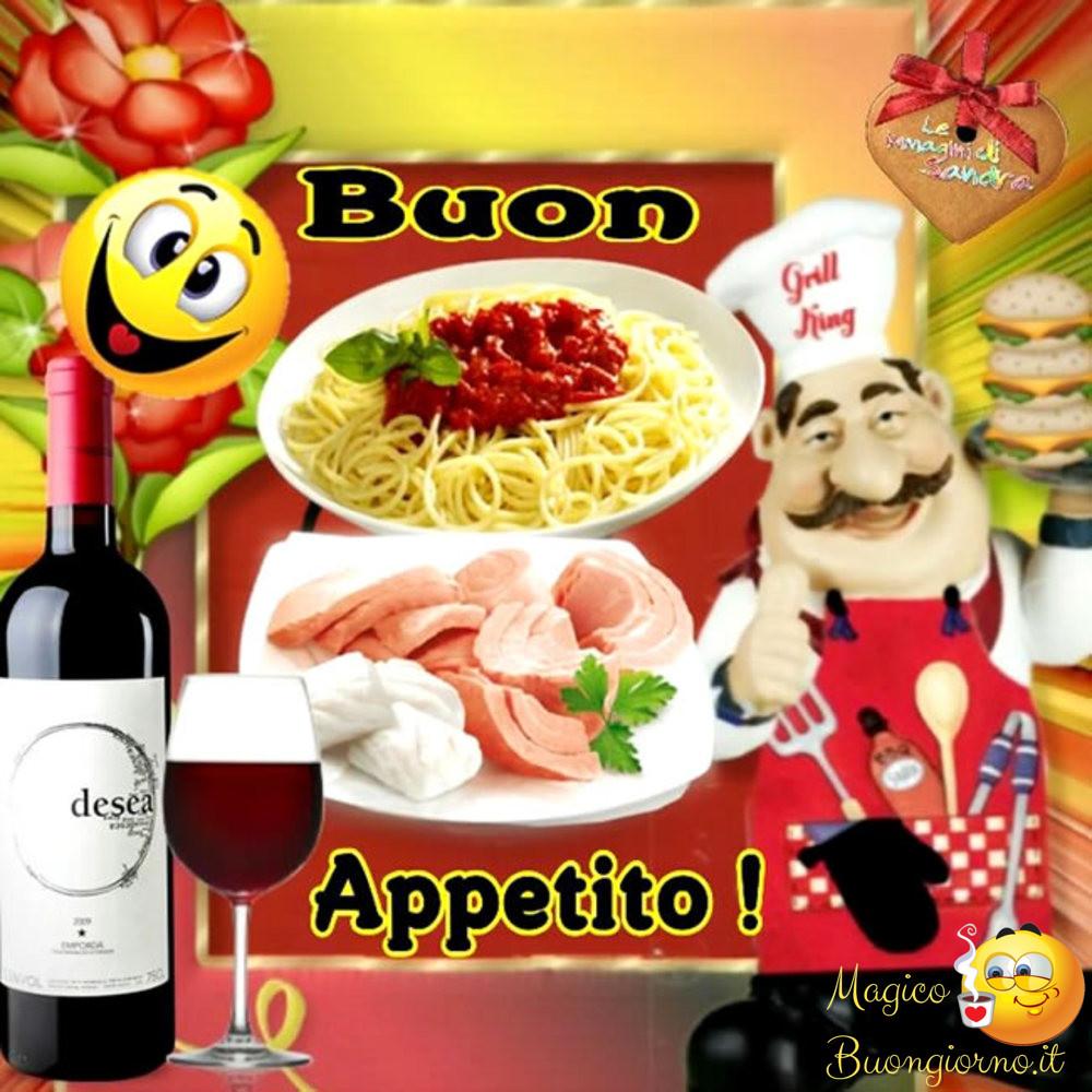 Immagini per Whatsapp Facebook Buon Appetito Pranzo 2