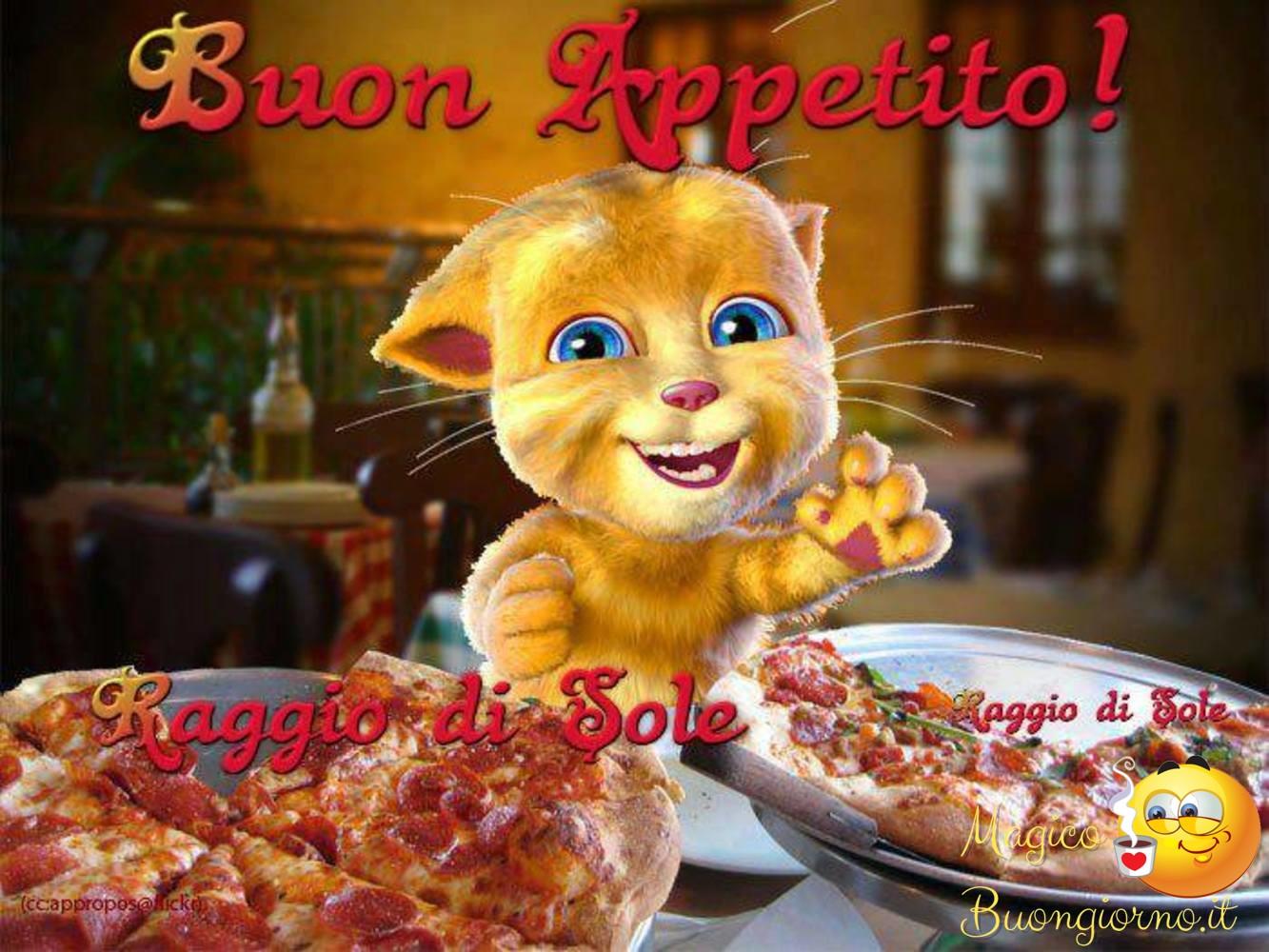 Immagini per Whatsapp Facebook Buon Appetito Pranzo 7