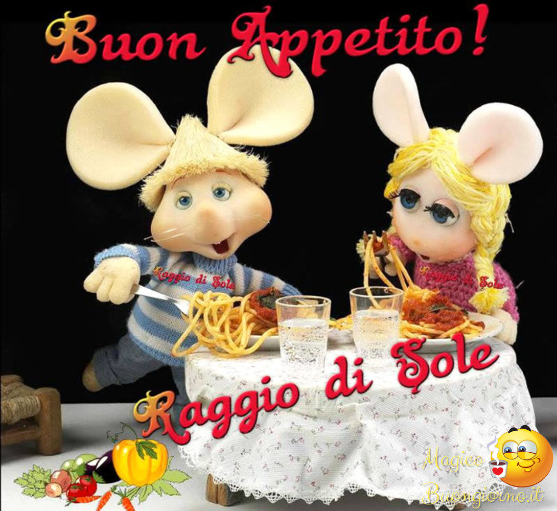 Immagini per Whatsapp Facebook Buon Appetito Pranzo 8