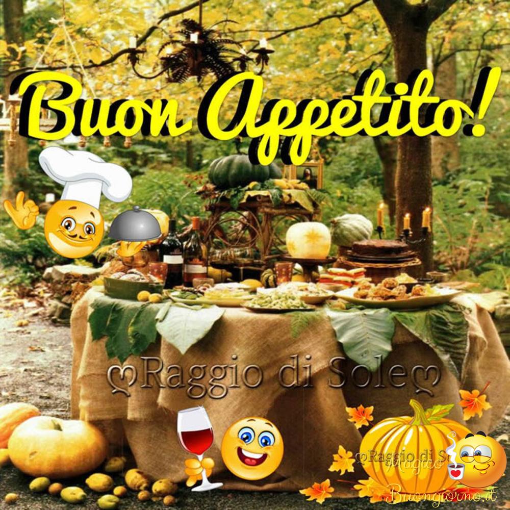 Immagini per Whatsapp Facebook Buon Appetito Pranzo 9