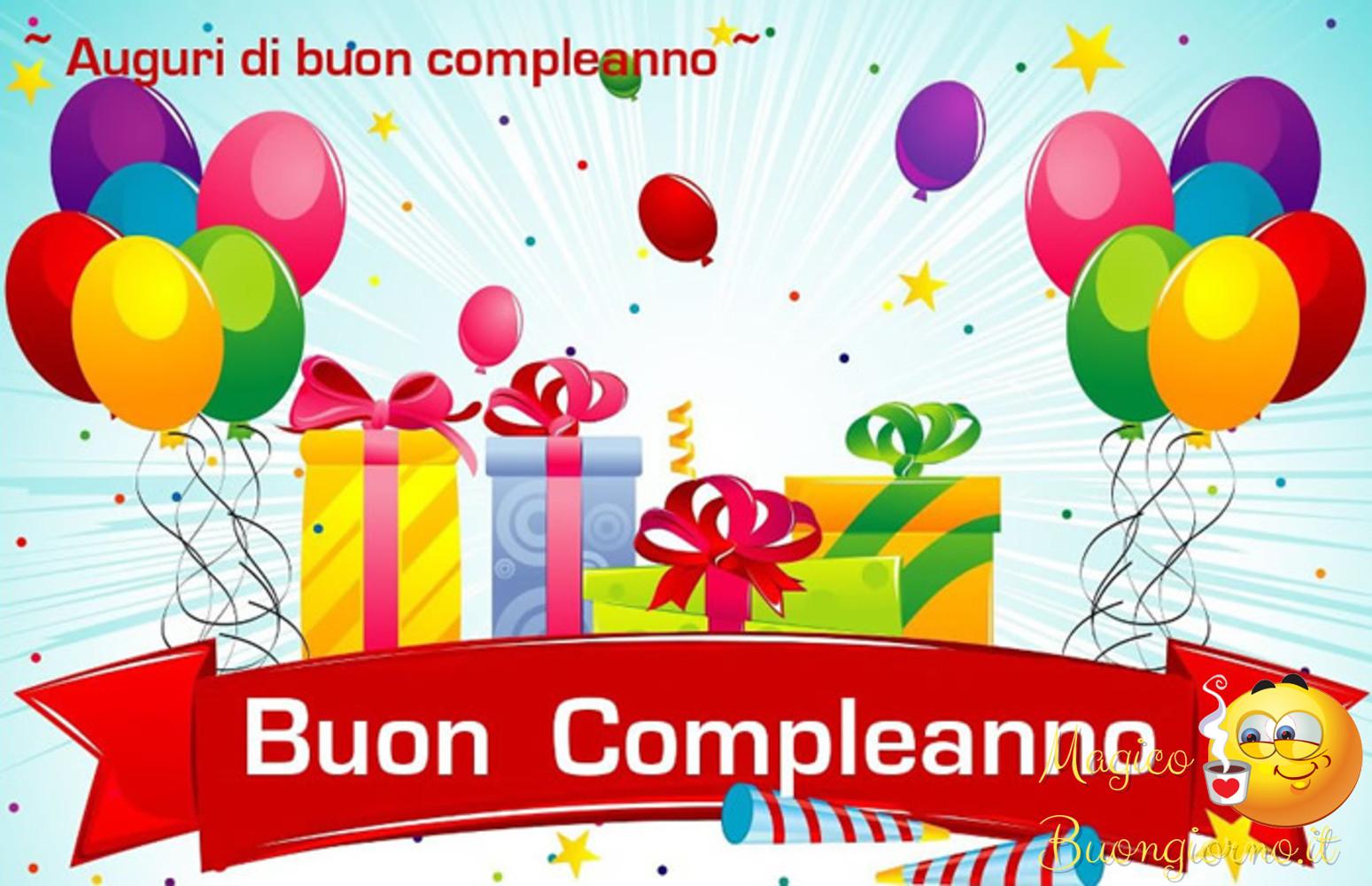 Immagini per Whatsapp Facebook Buon Compleanno 1