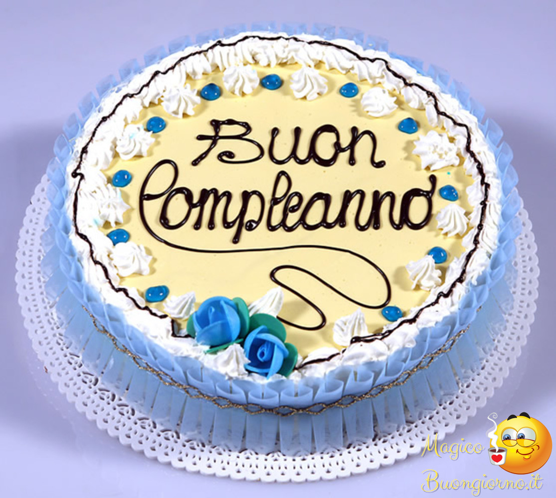 Immagini per Whatsapp Facebook Buon Compleanno 3