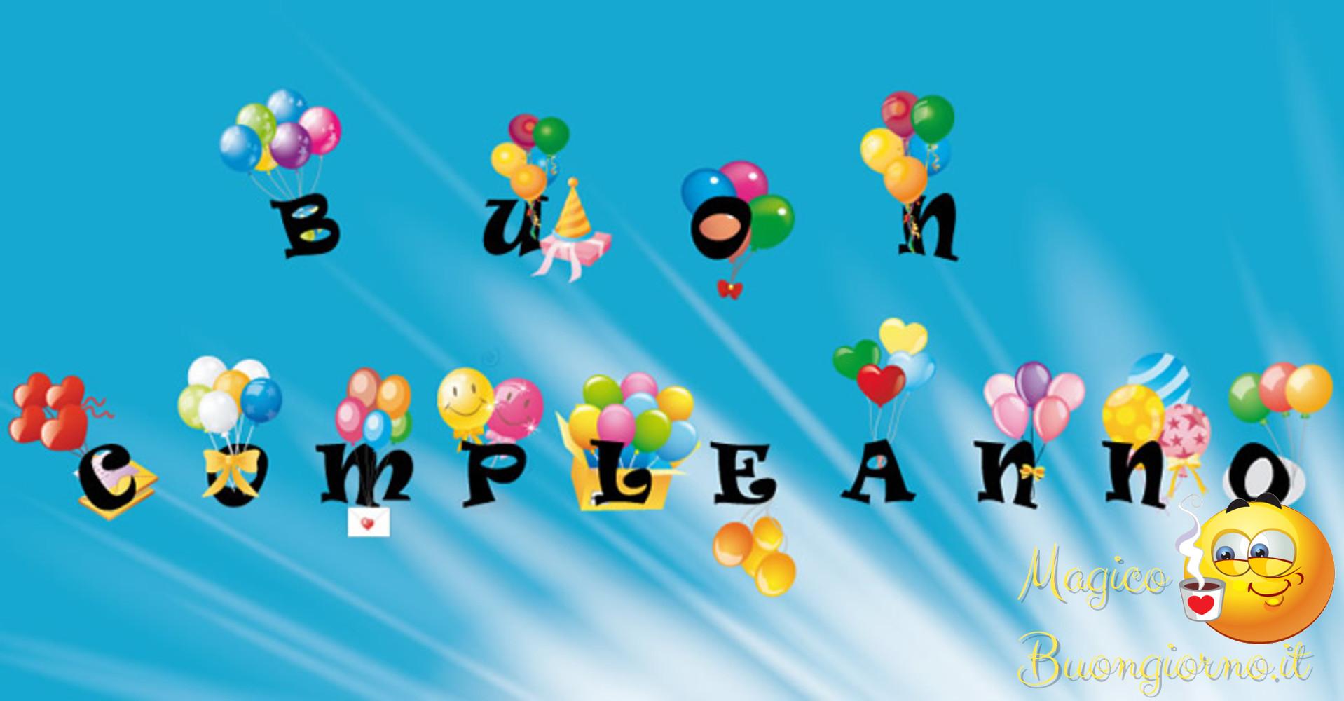 Immagini per Whatsapp Facebook Buon Compleanno 7
