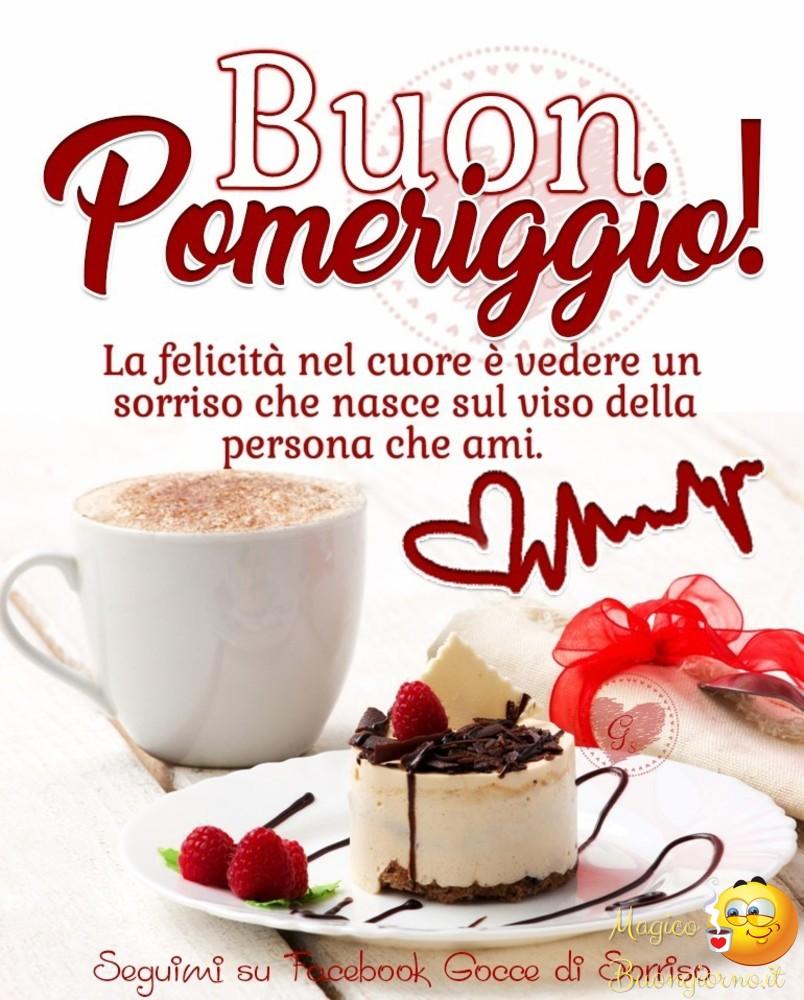 Buon Pomeriggio Per Facebook E Whatsapp Magicobuongiornoit