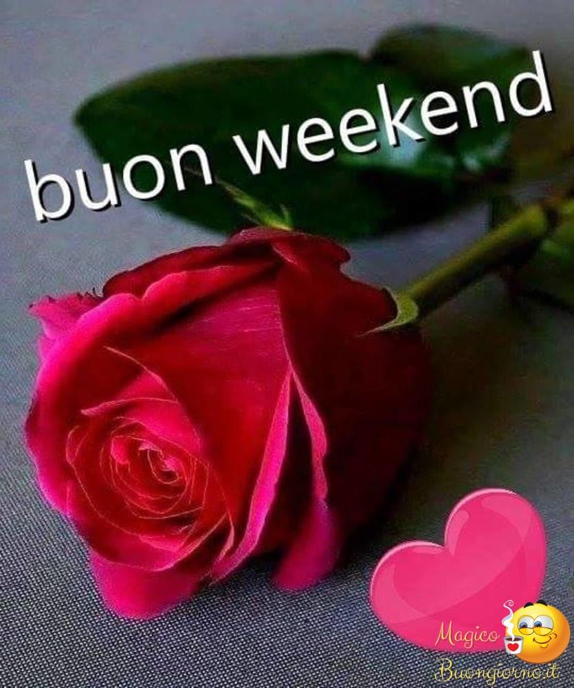 Immagini per Whatsapp Facebook Buon Week-End fine Settimana 16