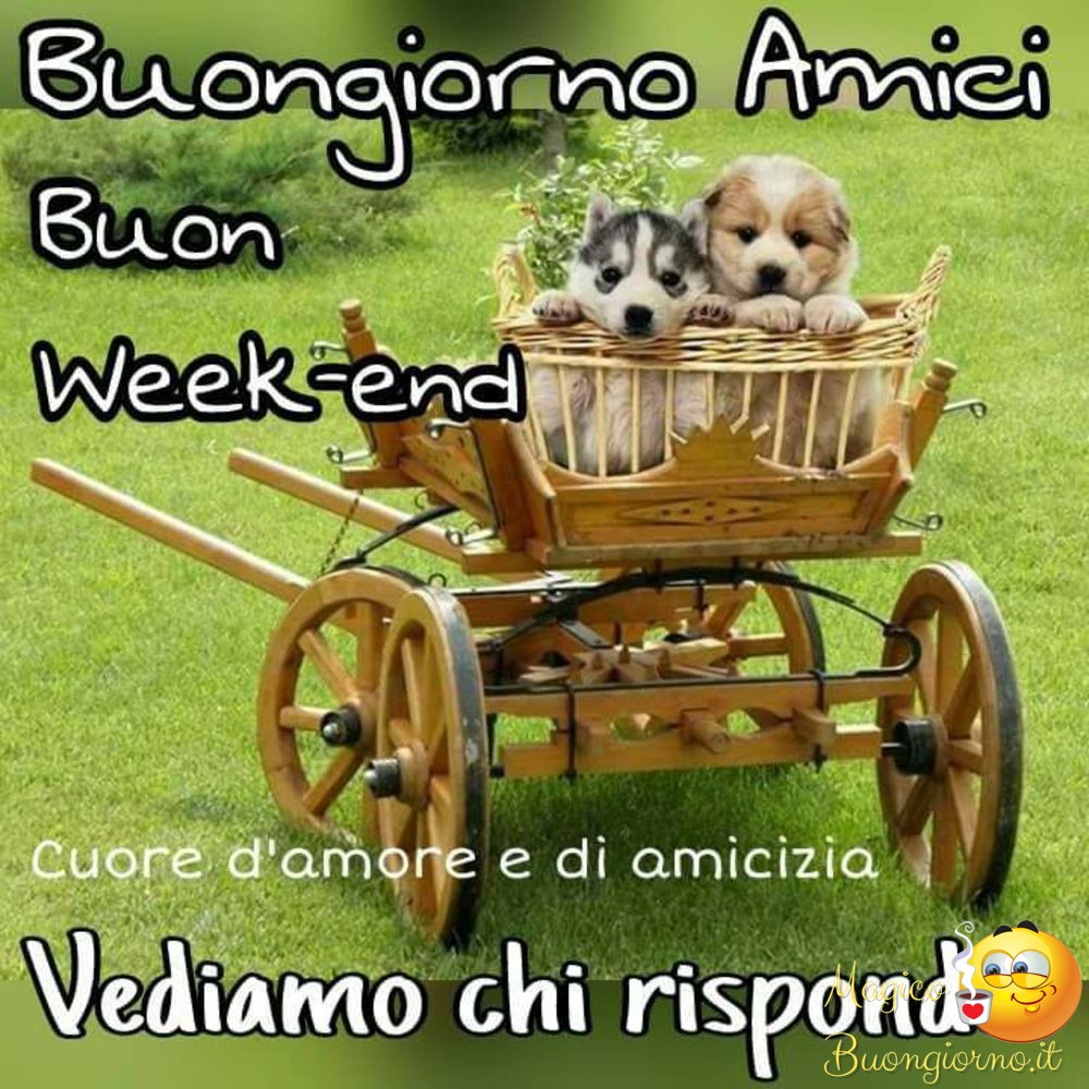 Immagini buon week end facebook whatsapp for Buon weekend immagini simpatiche